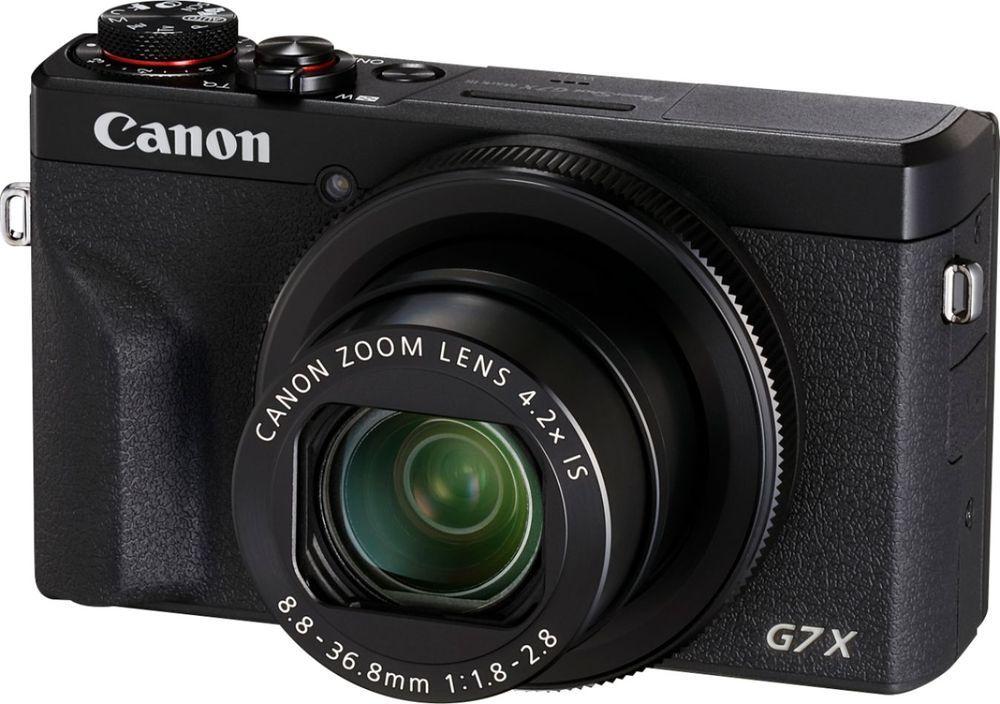 Canon Powershot G7 X Mark Iii 20 1 Megapixel Digital Camera Black Powershot Canon Powershot Digital Camera