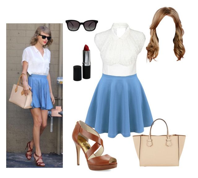 """""""Taylor Swift Inspired"""" by briony-jae ❤ liked on Polyvore featuring Rachel Comey, Moreau, Garrett Leight, MICHAEL Michael Kors, women's clothing, women, female, woman, misses and juniors"""