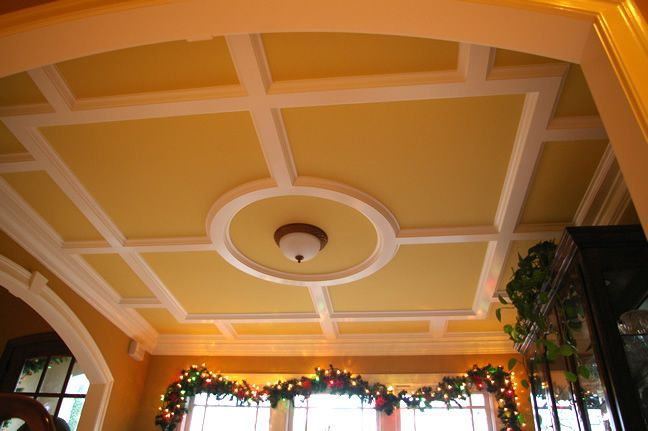 funky coffered gallery size kits for bungalow full spell faux layout lights great of basement orating over pic designs low ceiling cabinets kit cottage labor diy install armstrong wi ceilings foam drop island