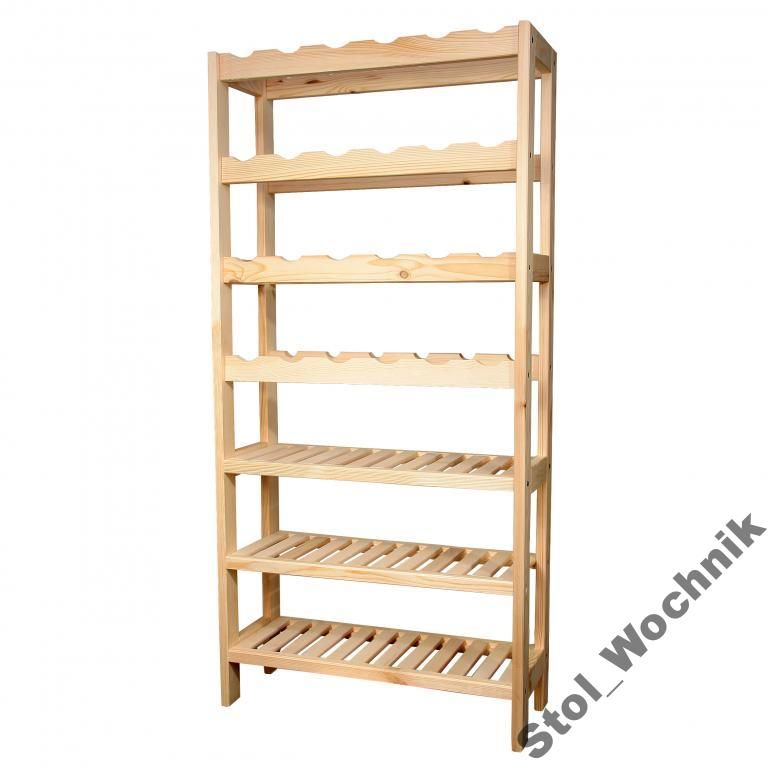 Regal Stojak Na Wino 24 Butelki 3 Polki 3594213661 Oficjalne Archiwum Allegro Shelves Decor Home Decor