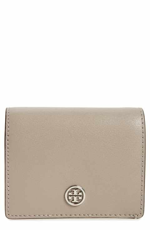 90032749fe01 Tory Burch Parker Foldable Mini Leather Wallet