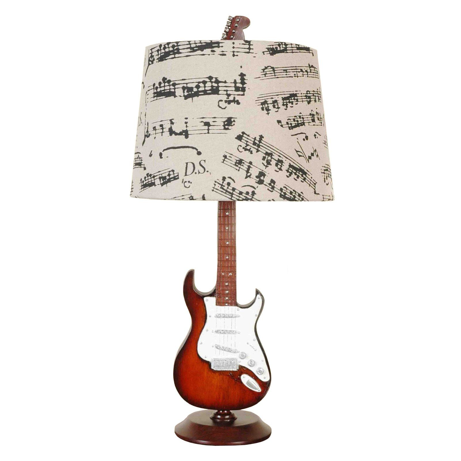 Creative motion industries 245 in guitar table lamp from creative motion industries 245 in guitar table lamp from hayneedle aloadofball Image collections