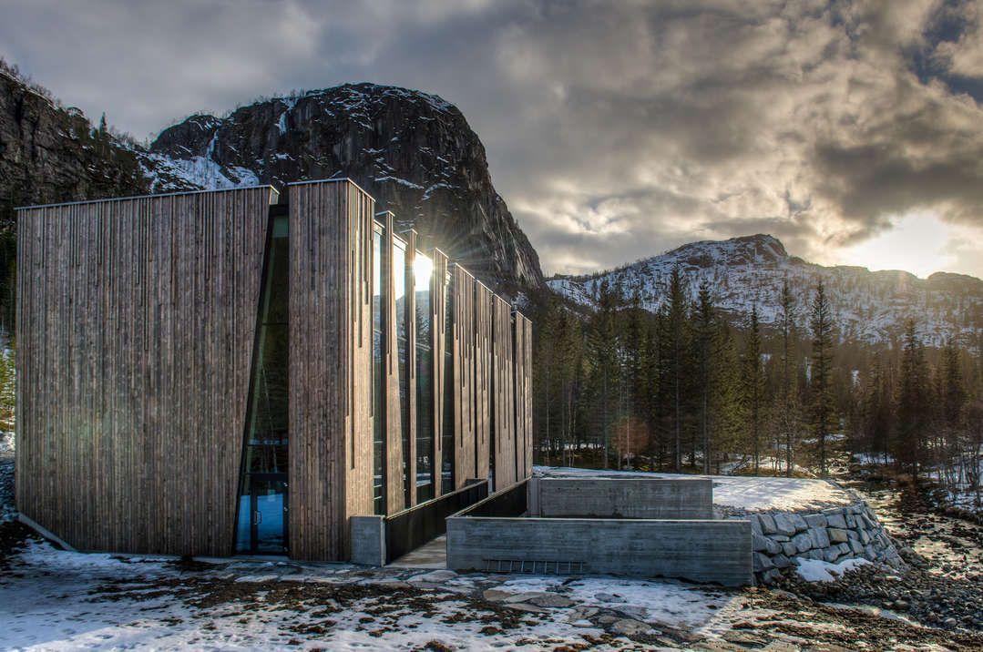 Øvre Forsland og Bjørnstokk Hydraulic Power Stations - Helgeland, Norway - Stein Hamre Arkitektkontor