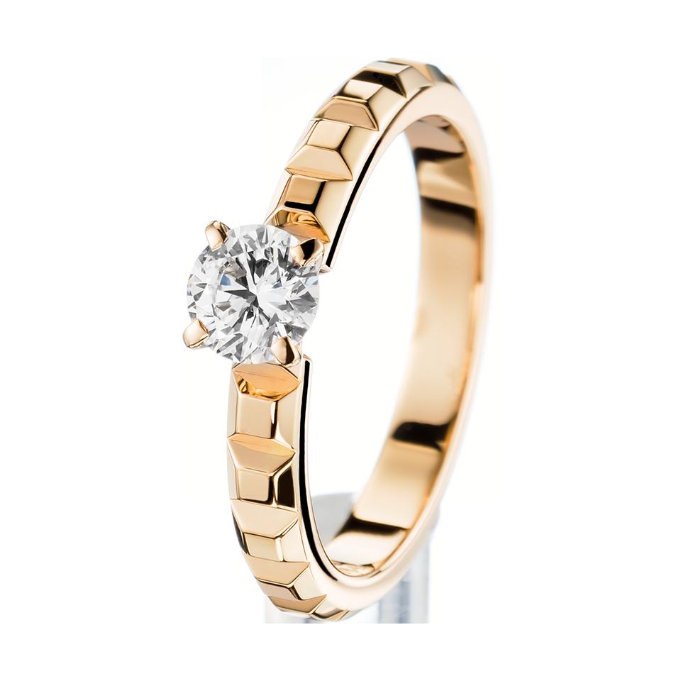 bas prix 4e031 7784d Pointe de Diamant Yellow Gold Solitaire - Boucheron USA | b ...