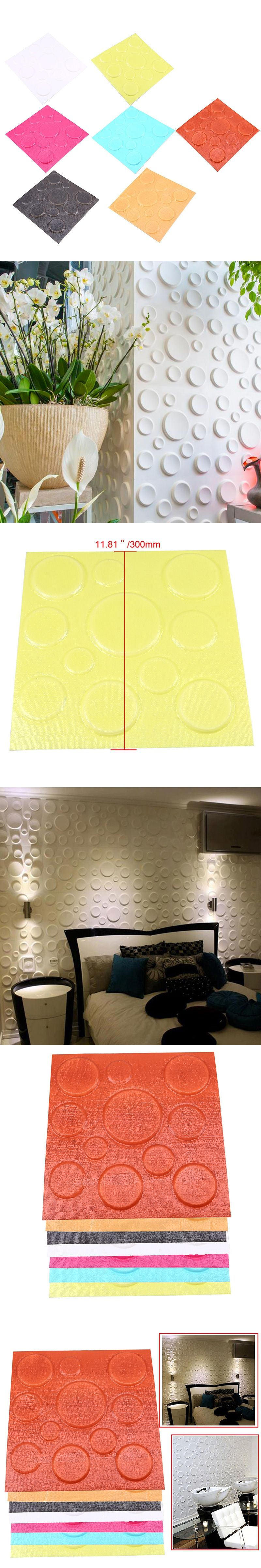 DIY 3D Bricks Wall Sticker for Bedroom TV Living Room Background ...