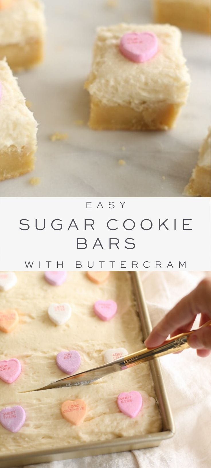 Melt in Your Mouth Sugar Cookie Bars with Buttercream Icing