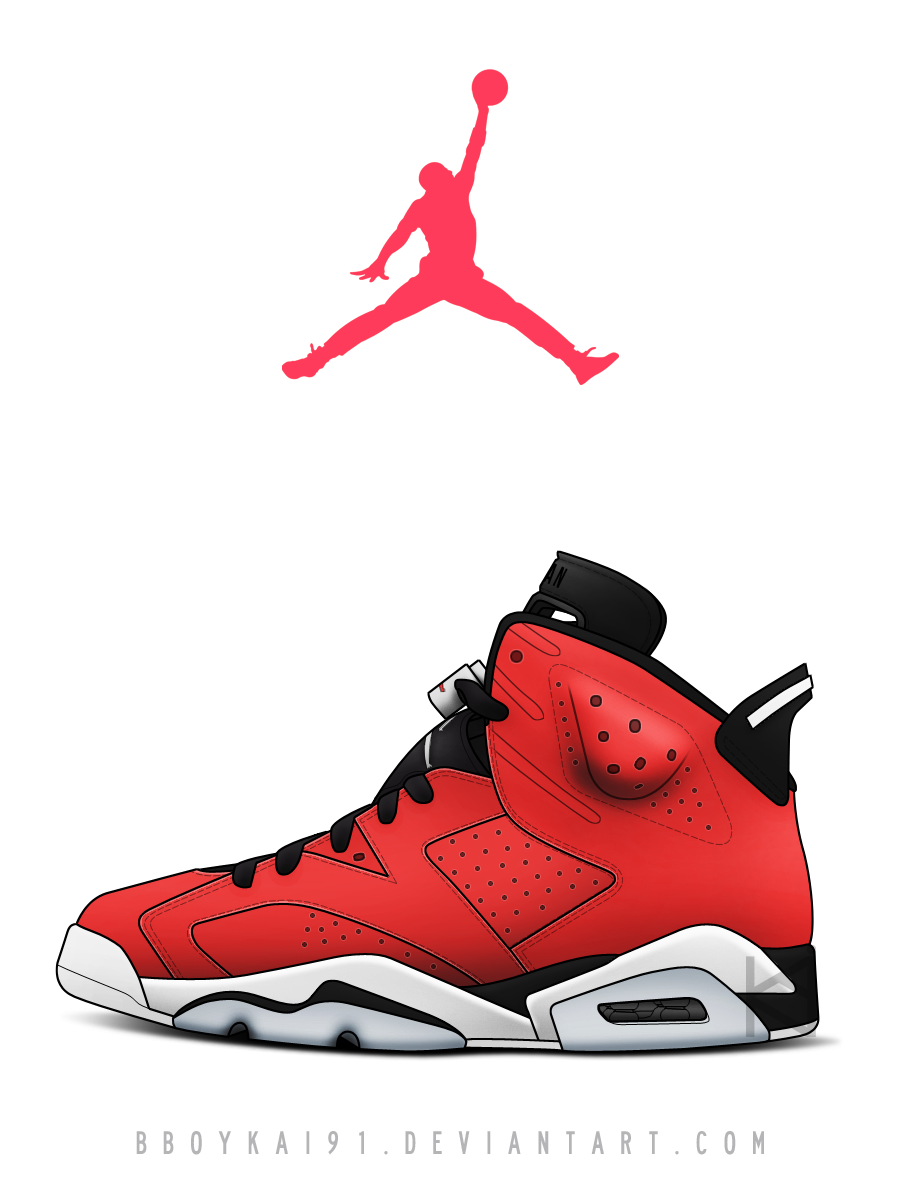 Air Jordan 6 Toro by BBoyKai91 on DeviantArt ... d37cae723