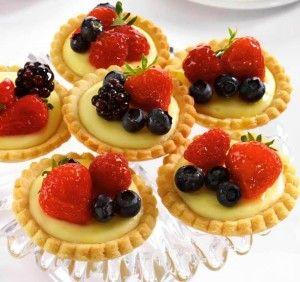 Тарталетки с начинкой | Идеи для блюд, Десерты, Рецепты ...