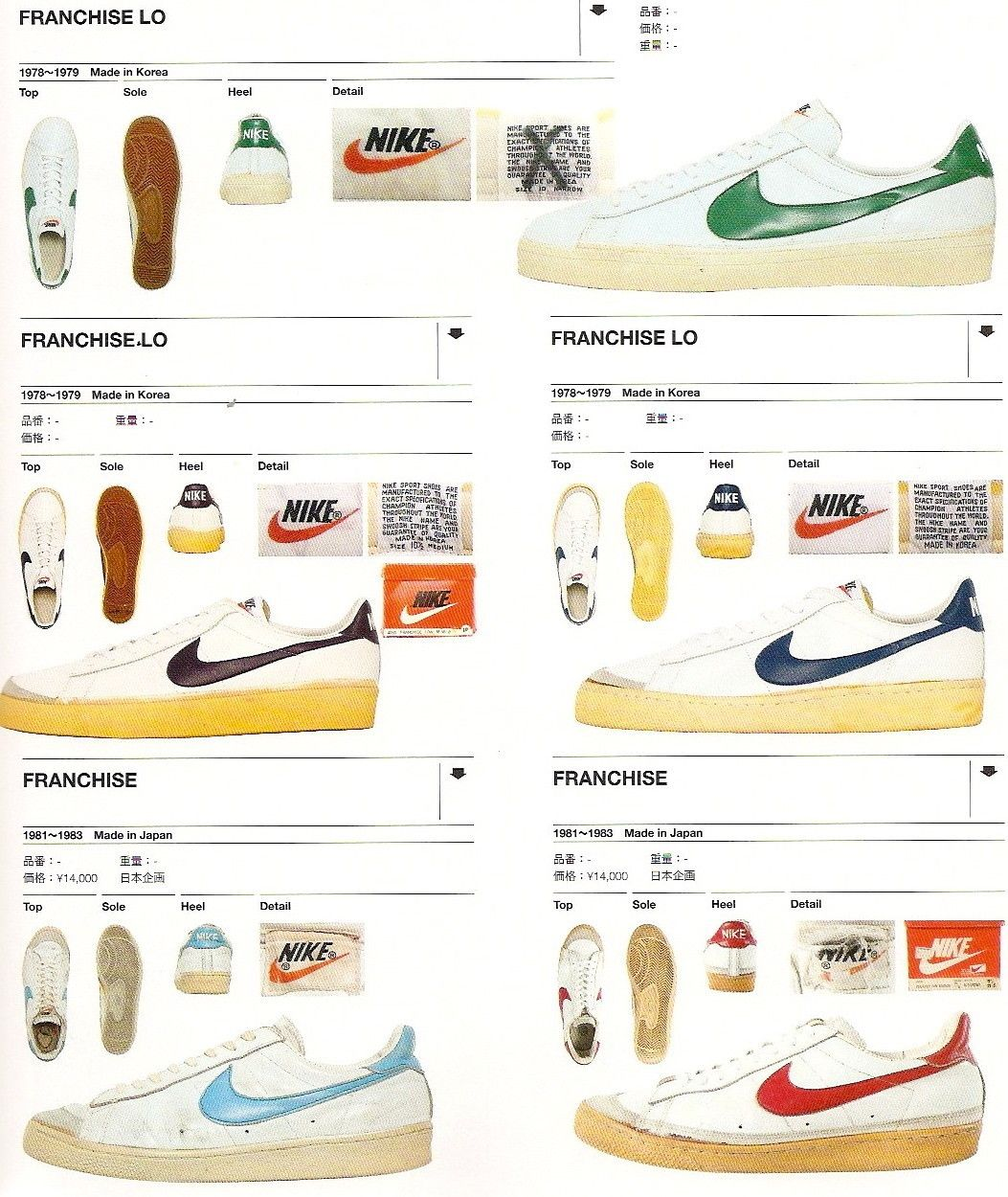Fng Classics Nike Franchise Franchise Lo Catalogue Circa Retro Sneakers Vintage Sneakers Vintage Nike