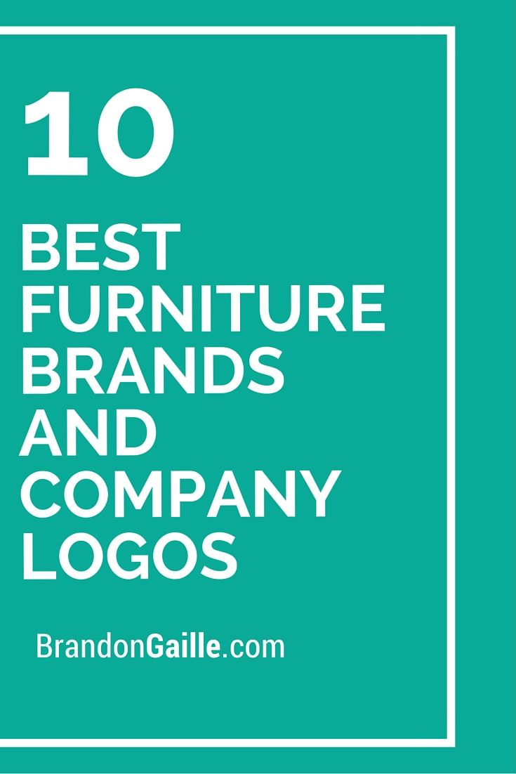 10 Best Furniture Brands And Company Logos Logos And Names