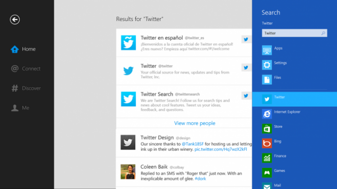 Twitter Introduces New App For Windows 8 [VIDEO] Twitter