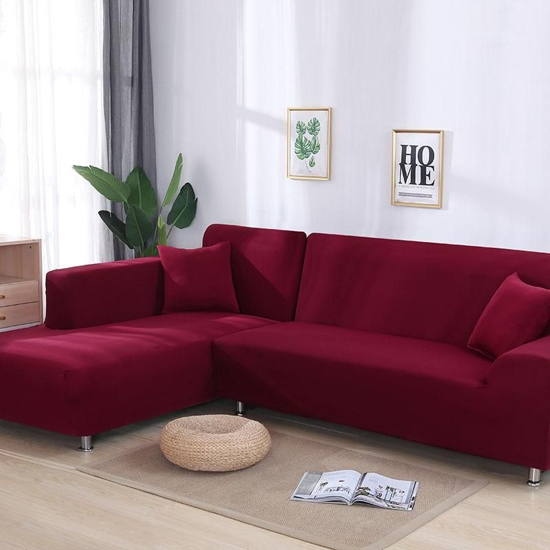 Solid Color Premium Sofa Slipcover 50 Off Pepperhive Corner Sofa Covers Cushions On Sofa Slip Covers Couch