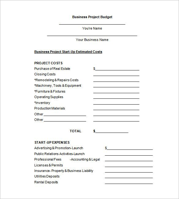 Office Budget Template  Making Own Office Budget Template It Is