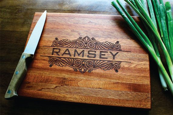 Engagement Gift Gift For Her Anniversary Personalized Family Tree Personalized Wedding Gift Bridal Shower Gift Engraved Cutting Board