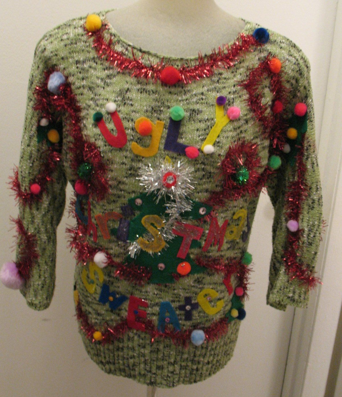 ugly christmas sweater | Ugly Sweater ~ Christmas Party | Pinterest ...