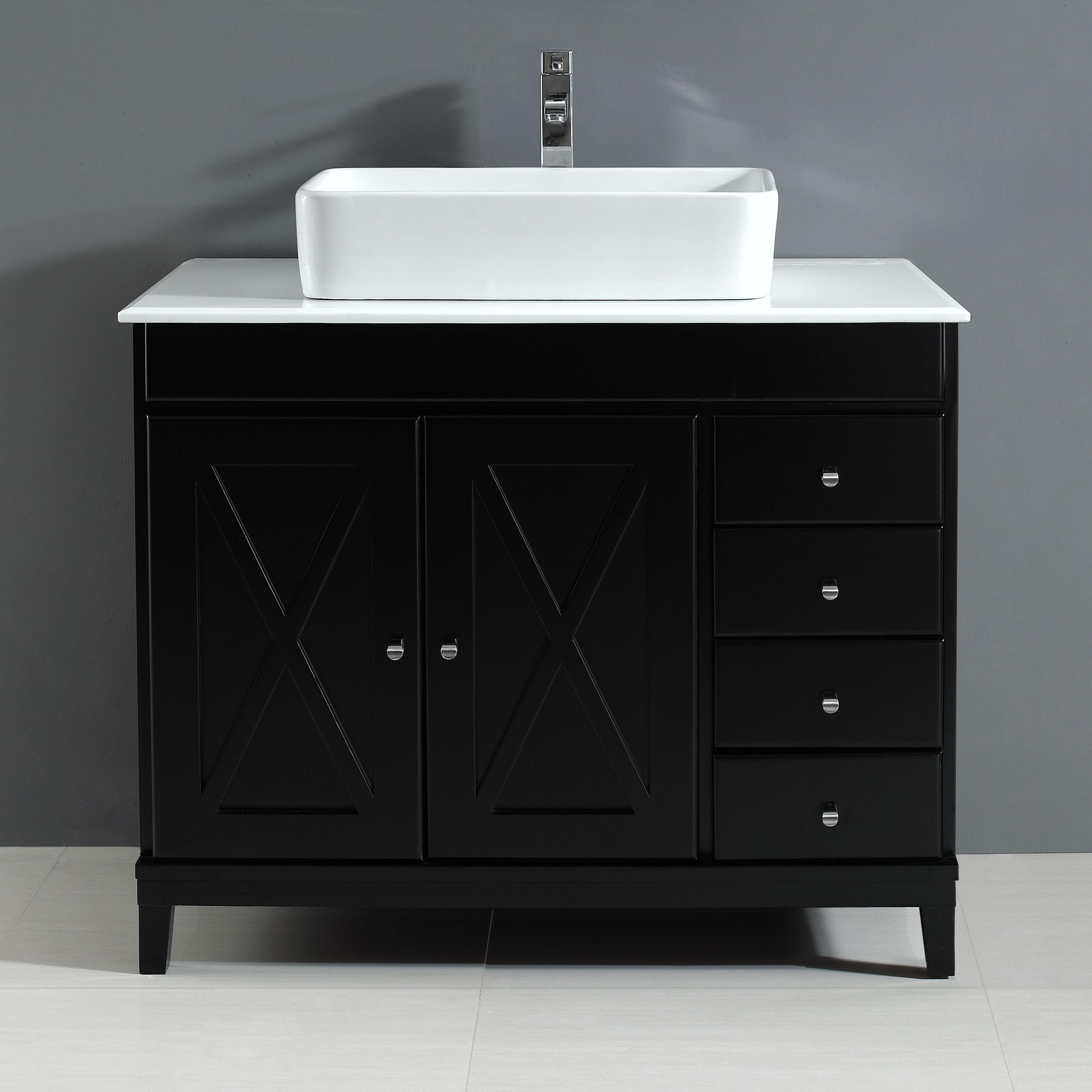 Aspen 40 Single Bathroom Vanity Set Bathroom Vanity Vanity