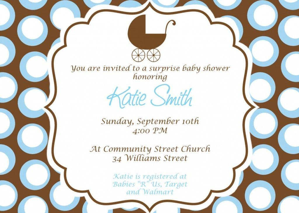 Pin by vio karamoy on Amazing Baby Shower Invitations For Boys ...
