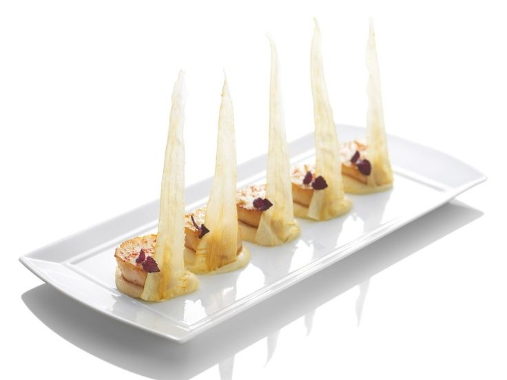 Scallop Turnip Puree Food Channel Food Food And Drink