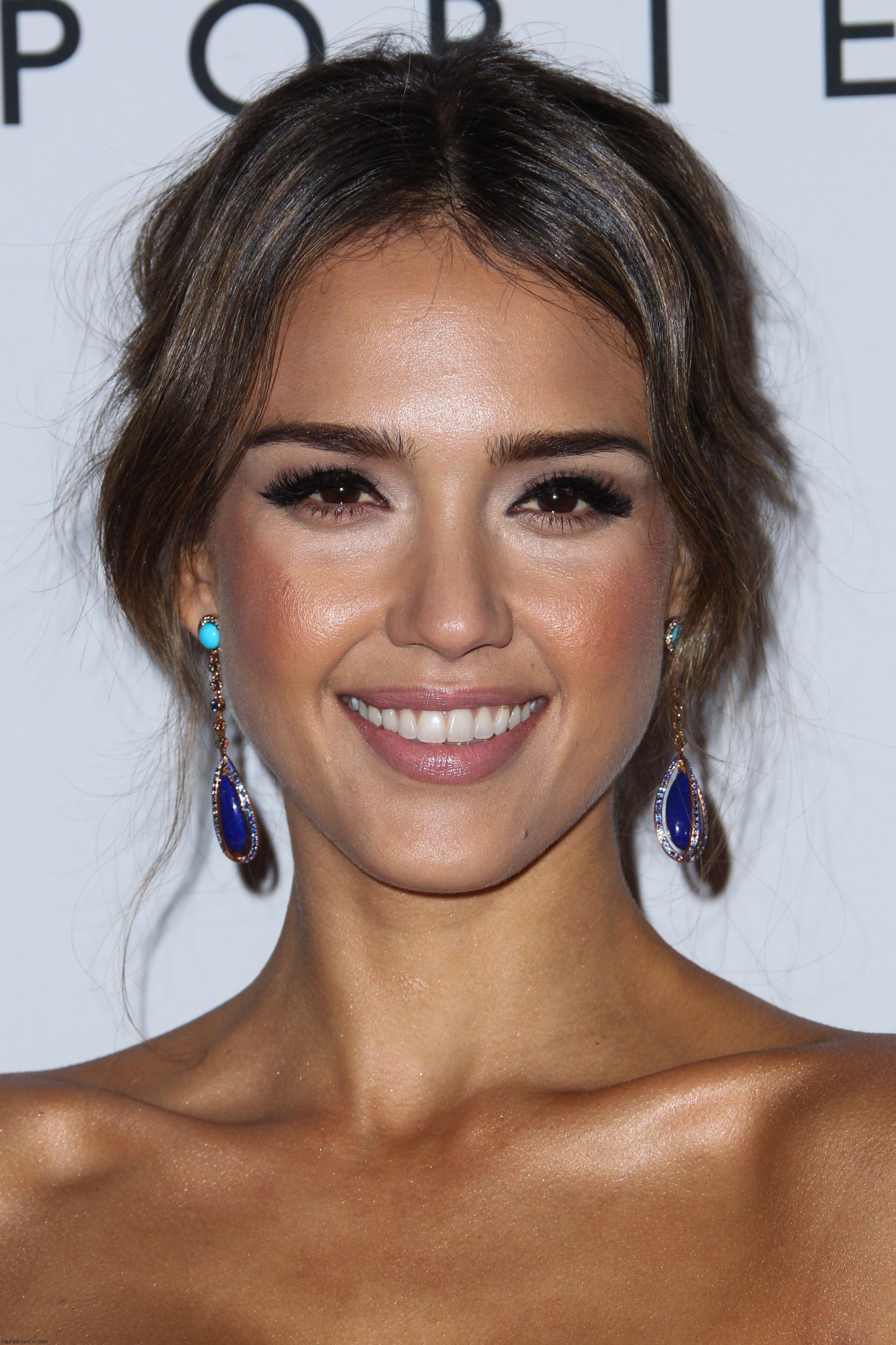 jessica alba gorgeous make-up | make-up | pinterest | jessica alba