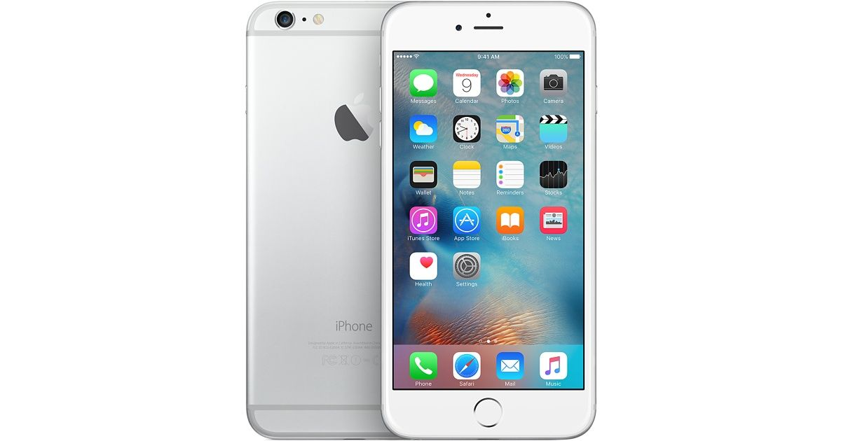 apple iphone 6 plus silver t mobile