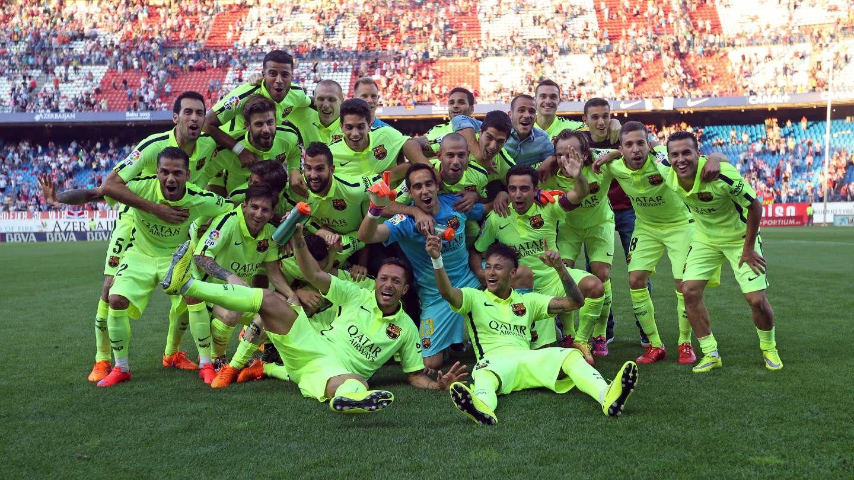 Barcelona  campeones de La Liga
