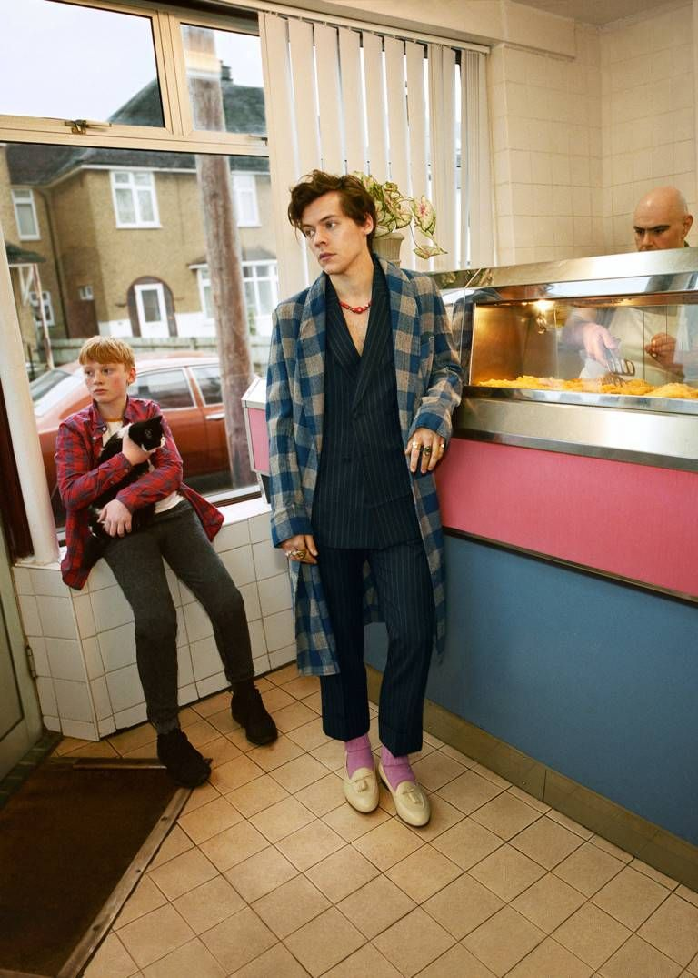 56b961d2da9 Harry Styles stars in the new men s Gucci Tailoring campaign. - Gucci  Stories