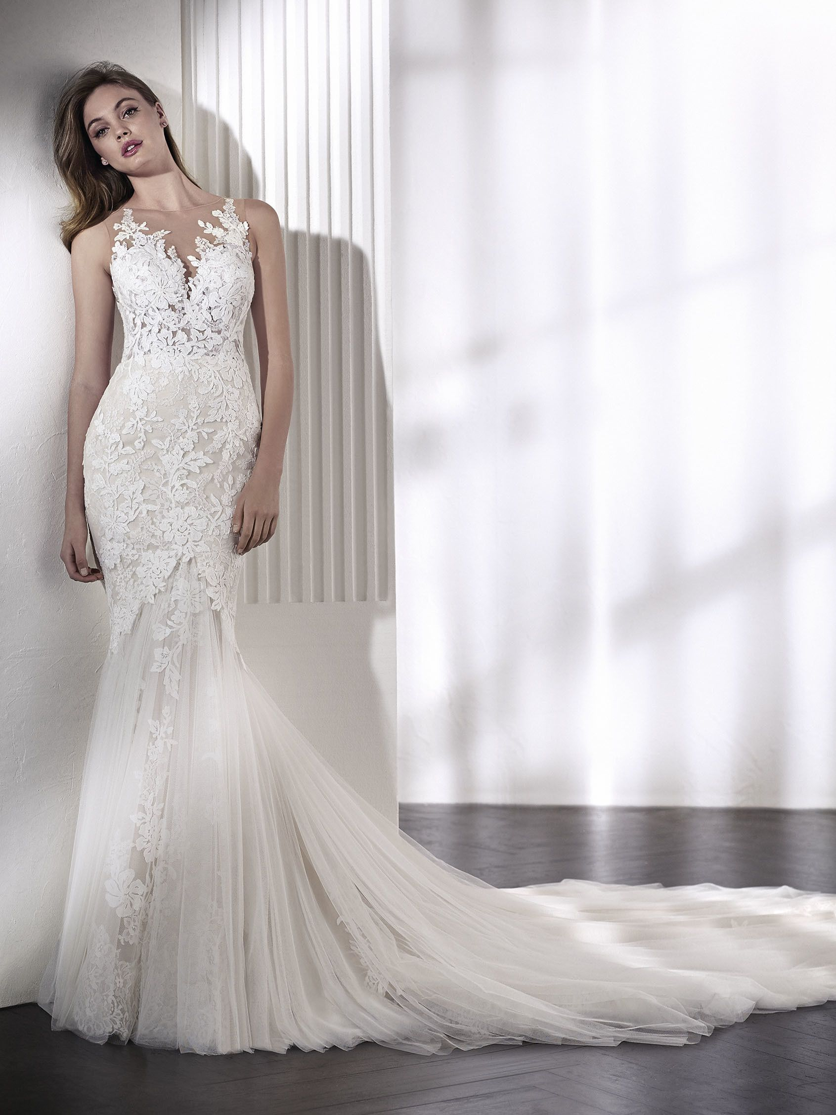 LENI mermaid wedding dress | robe de mariee | Pinterest | Mermaid ...