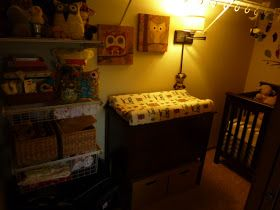 Making room for baby: Turning a walk-in closet into a nursery- Exactly what we're doing!!! JMR