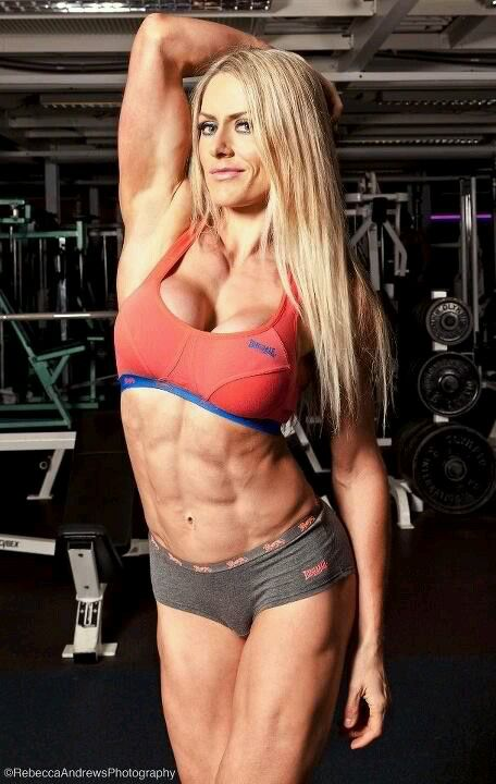Busty Petite Fitness Model
