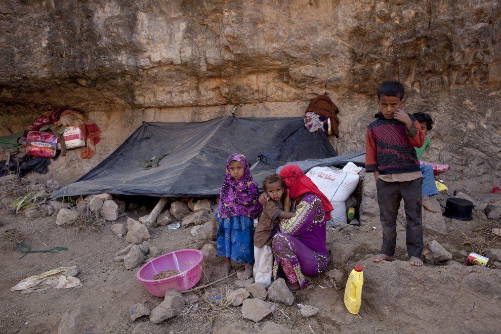 Nello Yemen distrutto dalla guerra civile