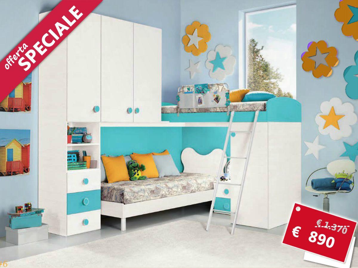 cameretta completa Camera da letto bambini, Camerette e
