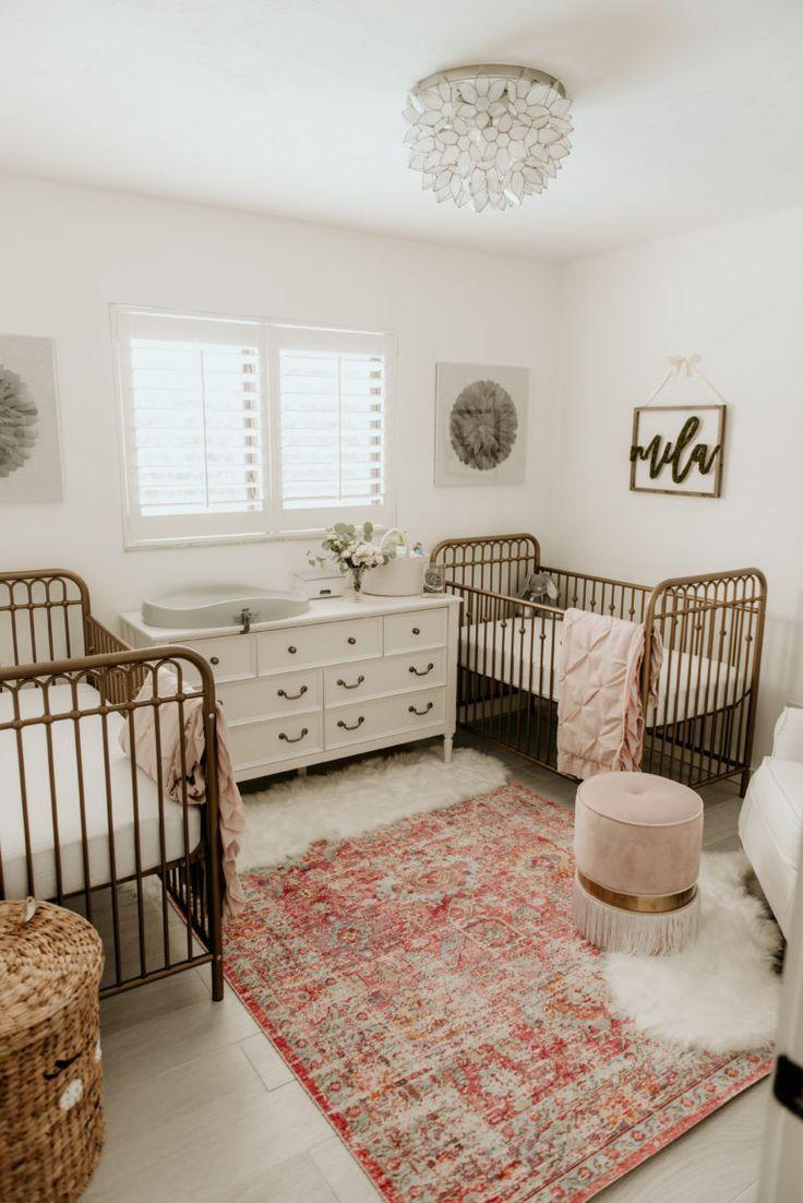 Little Ladies Twin Nursery in 2020 Babyzimmer möbel