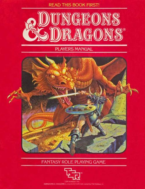 Image result for dungeons and dragons red book