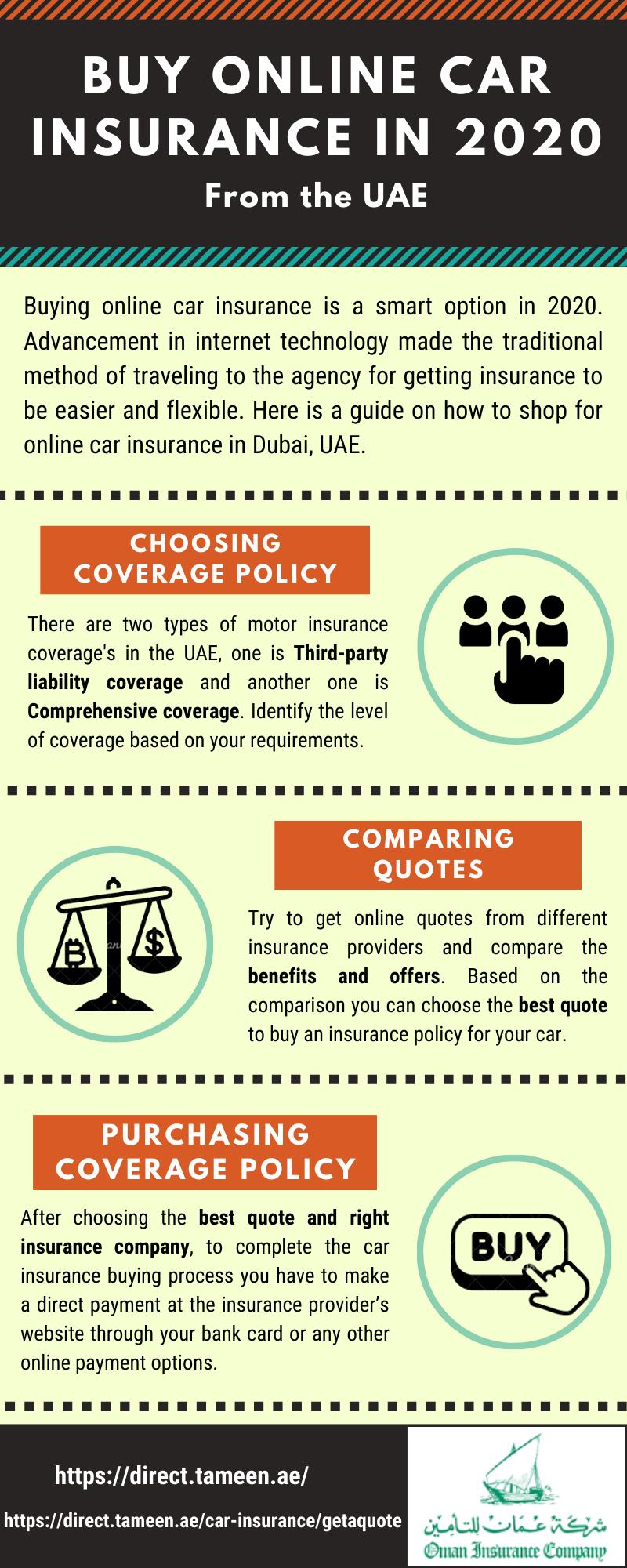 Buy online car insurance in 2020 from UAE in 2020 Car