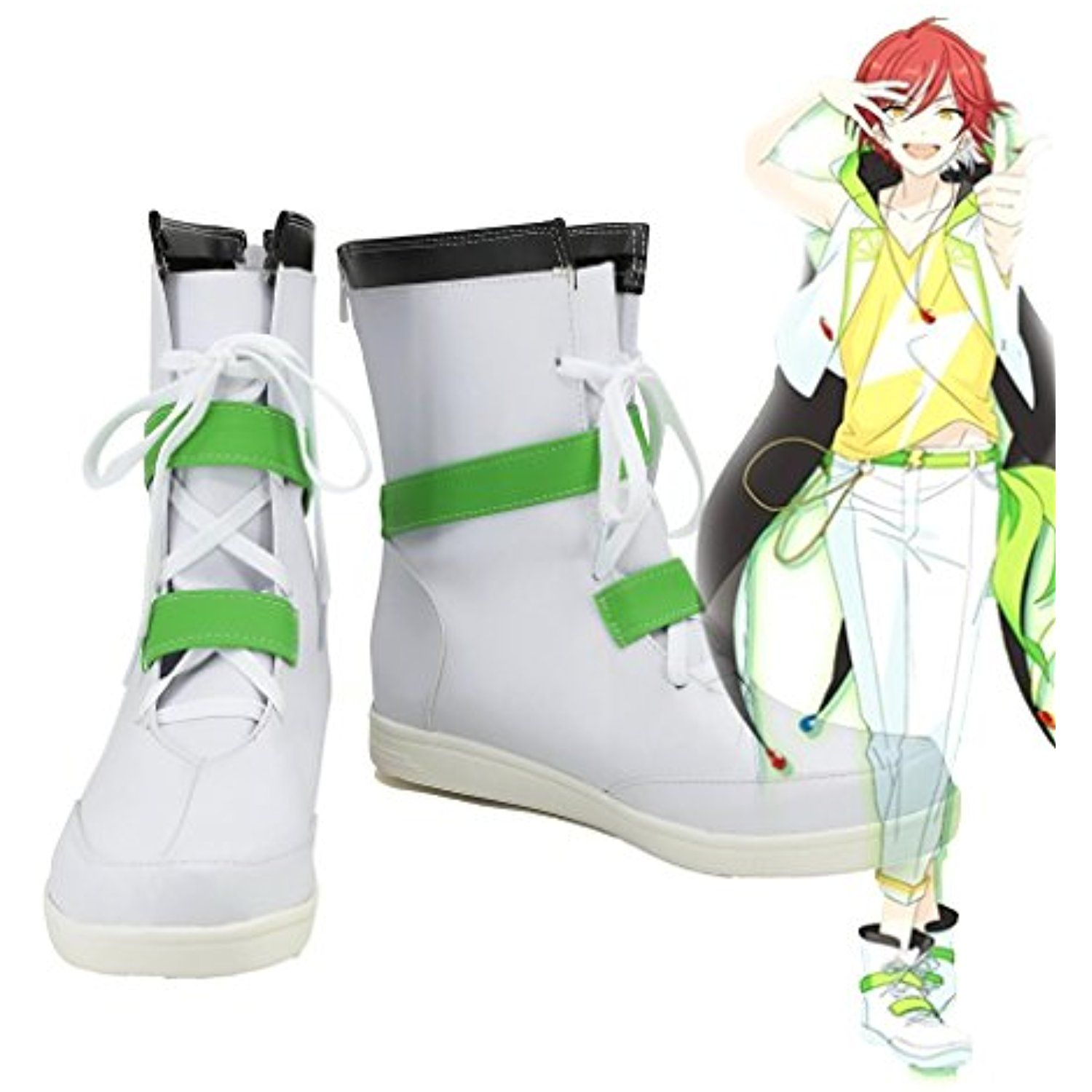 Ensemble Stars SWITCH Natsume Sakasaki Cosplay Shoes Boots Custom Made