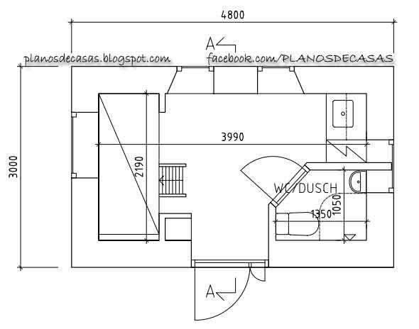 planos de casas muy pequeñas