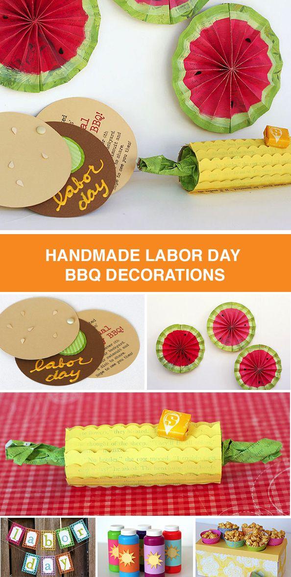 Labor Day BBQ #labordaycraftsforkids