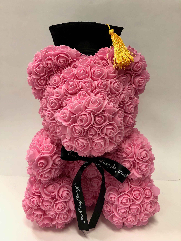 Rose Bear Love Heart Rose Bear Rose Teddy Bear Forever Rose Teddy Bear With Heart In 2020 Forever Rose Teddy Bear With Heart Teddy Bear Ornament