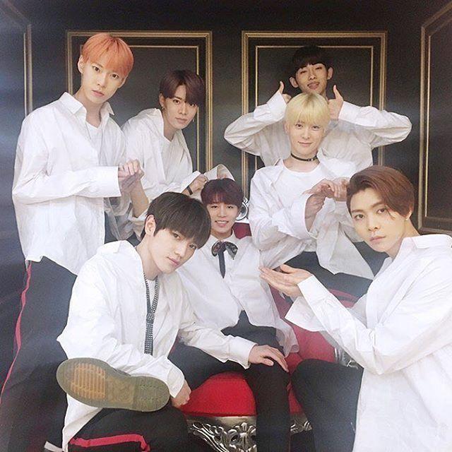 NCT 127- Doyoung, Yuta, Winwin, Taeyong, Taeil, Jaehyun