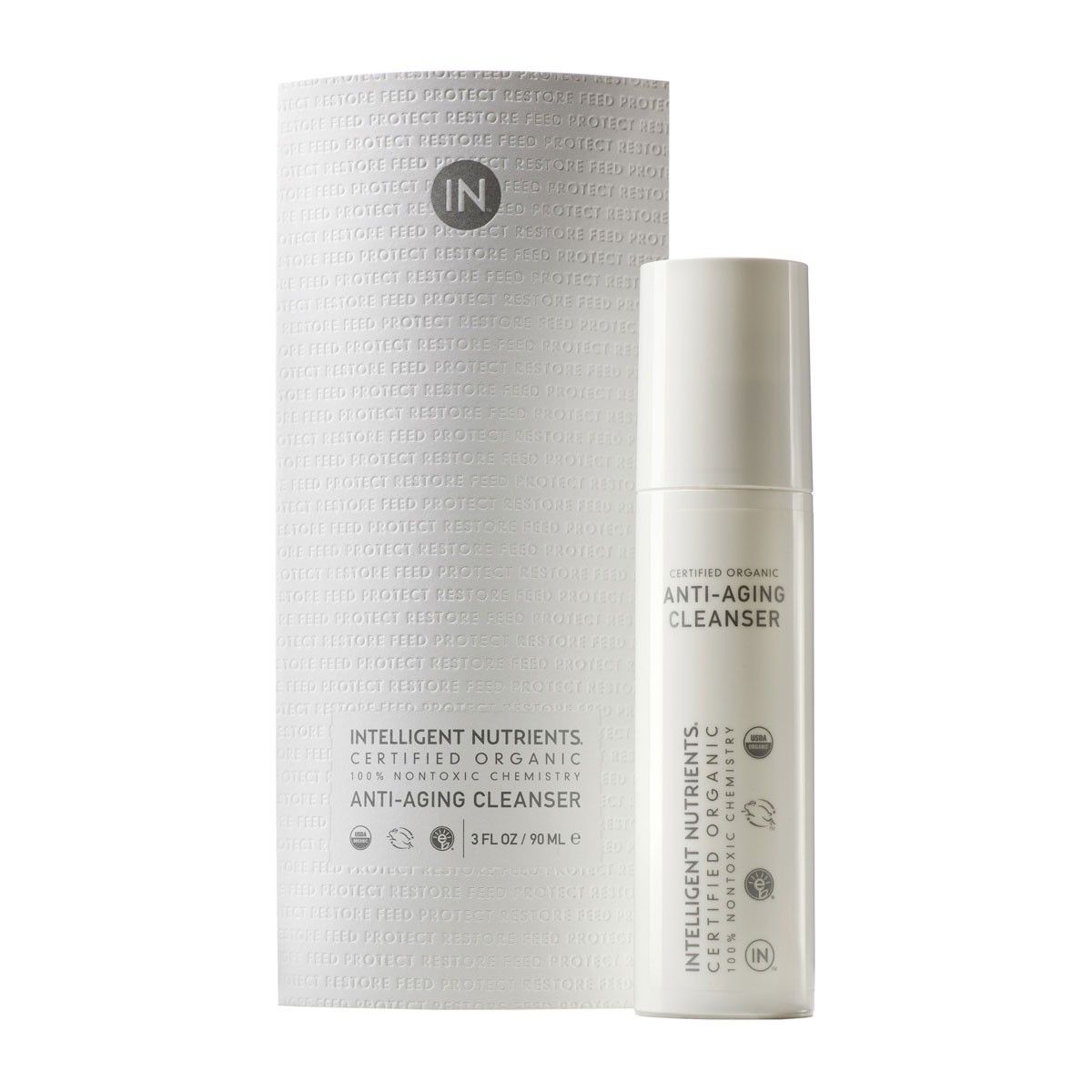 Intelligent Nutrients Organic Anti Aging Cleanser Face