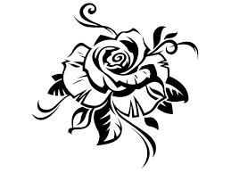 Bildergebnis Fur Tattoo Rose Vorlage Blumenschablonen Schwarze Rose Tattoos Scherenschnitt Vorlagen