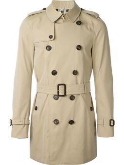 Trench coat com cinto