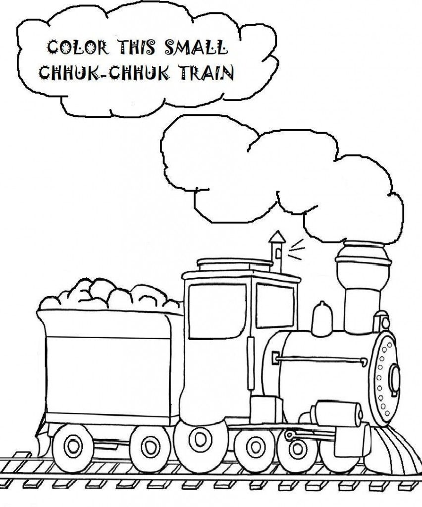 Free Printable Train Coloring Pages For Kids | Free printable