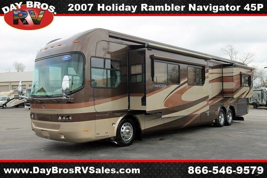 2007 Holiday Rambler Navigator in 2020 Holiday rambler