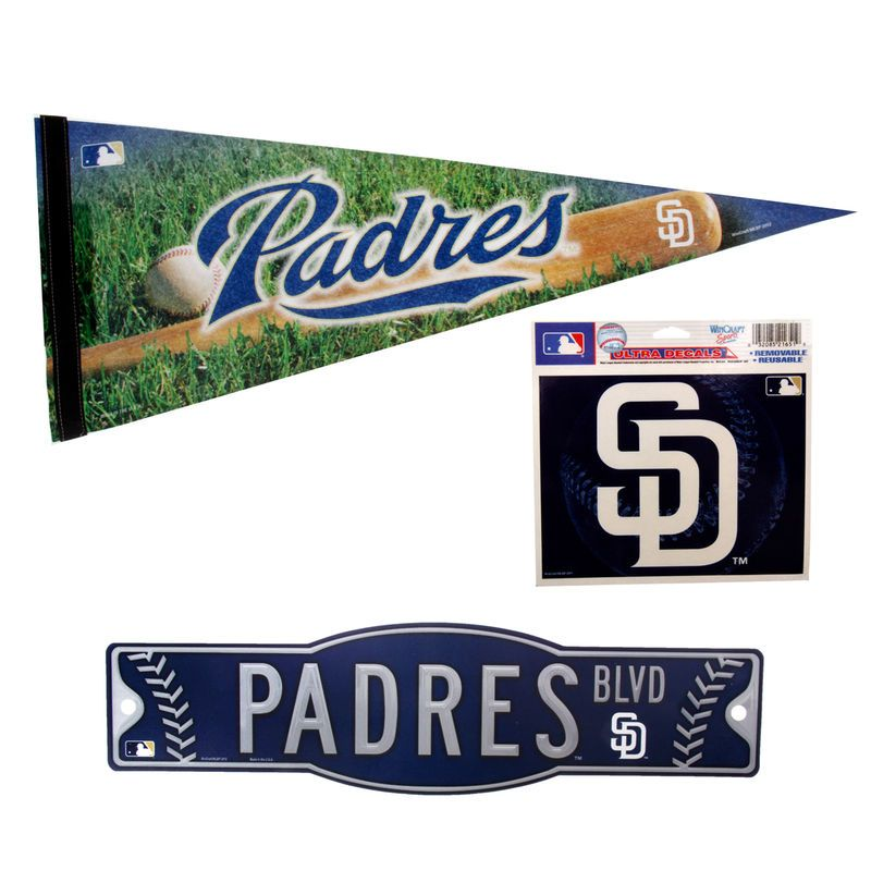 San Diego Padres WinCraft Fan Pack