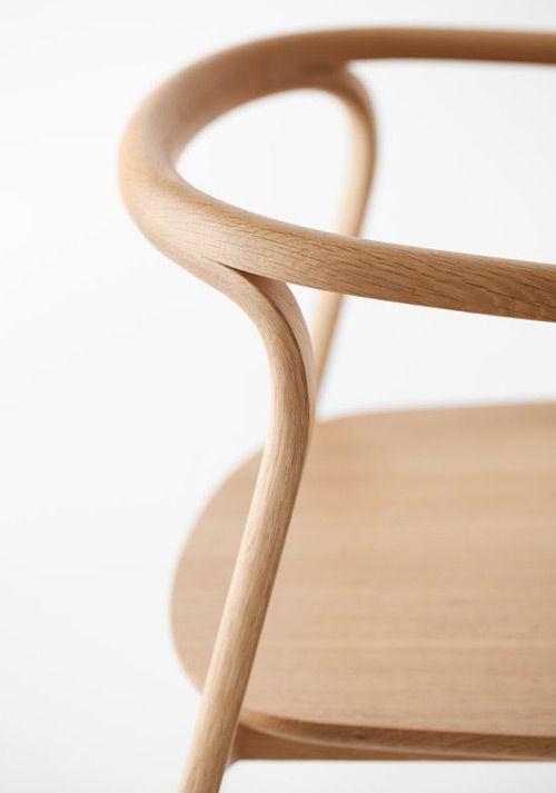 Holzspalterei: Splinter von Nendo für Conde House