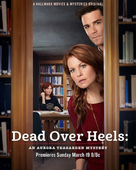 """Its a Wonderful Movie - Your Guide to Family and Christmas Movies on TV: Candace Cameron Bure stars in Hallmark's """"Dead Over Heels: An Aurora Teagarden Mystery"""""""