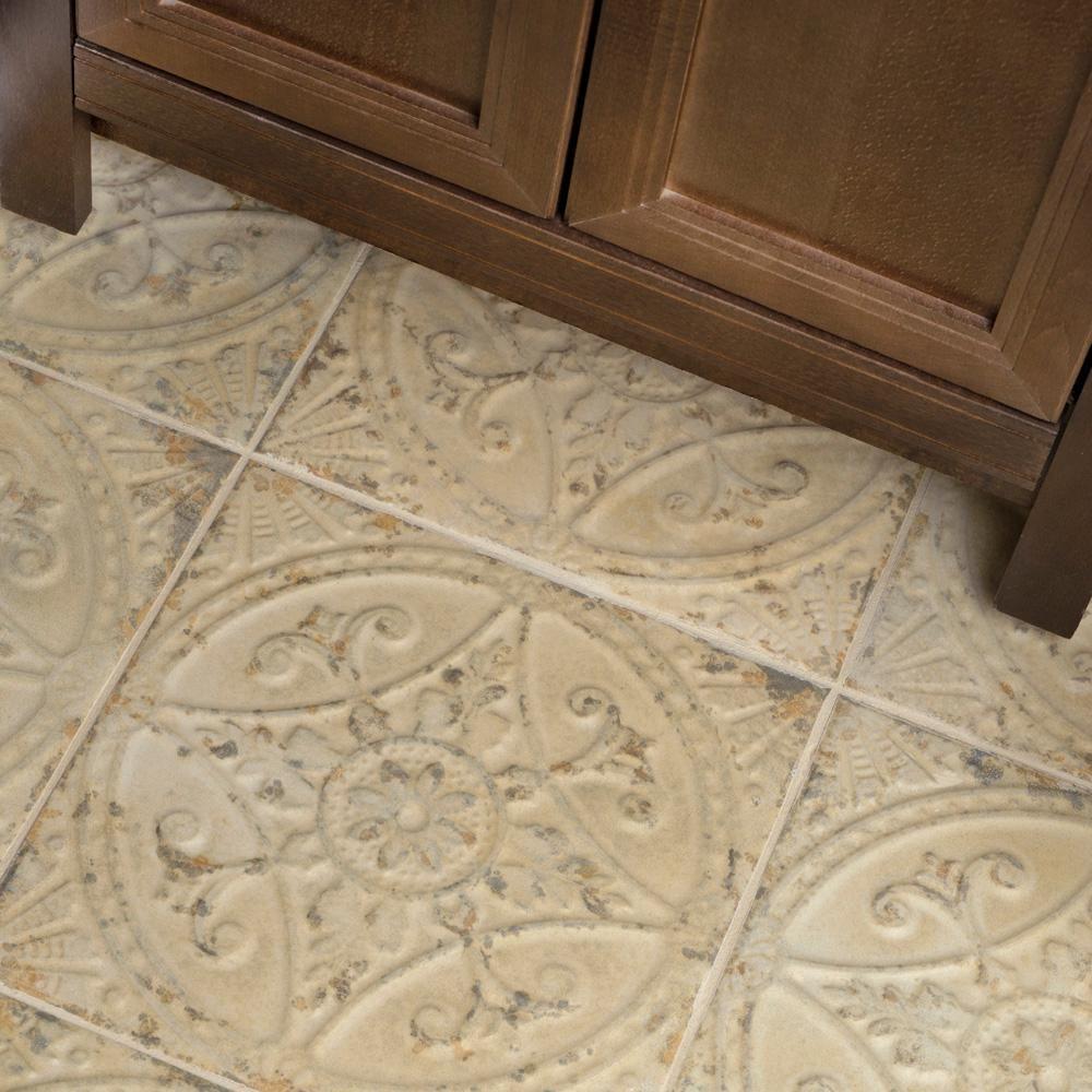 Merola Tile Saja Blanco 13 In X 13 In Ceramic Floor And Wall Tile 12 2 Sq Ft Case Fpesajb The Home Depot Tile Floor Ceramic Floor Wood Look Tile 13 x 13 ceramic tile