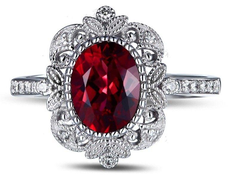Vintage Ruby Wedding Ring
