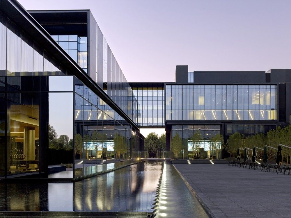 Gallery of university of oregon hatfield dowlin complex for Architects eugene oregon